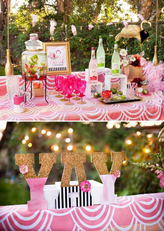 1-svadba-zolotoj-flamingo Дитя заката - розовый фламинго, как тематика свадебного торжества