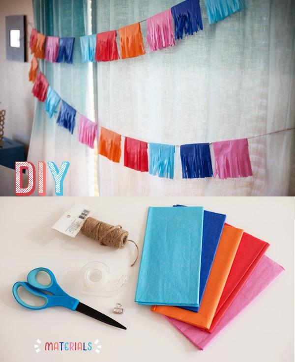 1-yarkaya-girlyanda-na-svadbu Делаем сами яркую гирлянду из гофробумаги для декора свадьбы или девичника