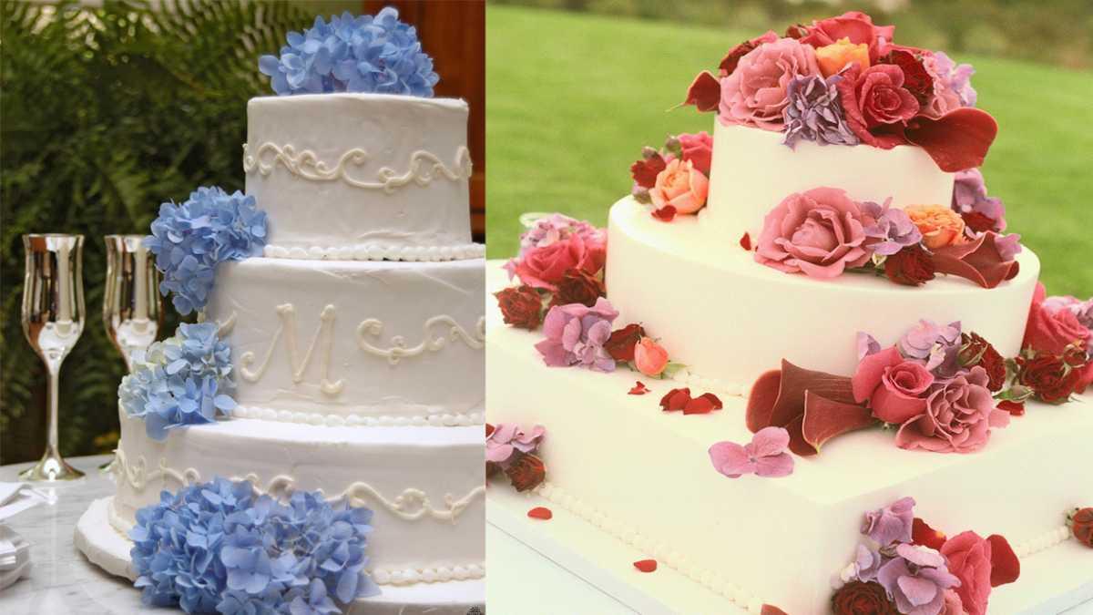dekor-dlya-svadebnogo-torta-4 Советы по выбору свадебного торта, как не допустить ошибки при выборе главного угощения торжества?