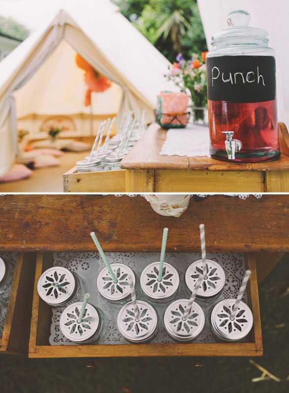 devichnik-rustik-6 Рустиковый девичник в палатках, идея для проводения  на природе предсвадебной вечеринке невесты
