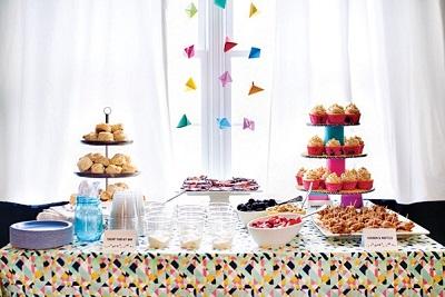 geometriya-v-dekore-svadby-4 Как использовать геометрические принты и узоры в декоре свадьбы