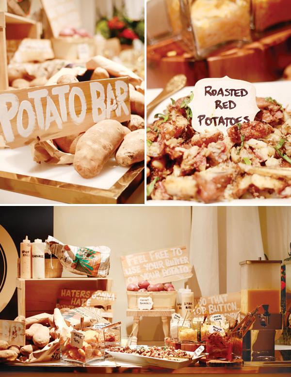 neobychnye-bary-na-svadbe-3 Организуем на своей свадьбе необычные десертный стол с закусками и угощениями