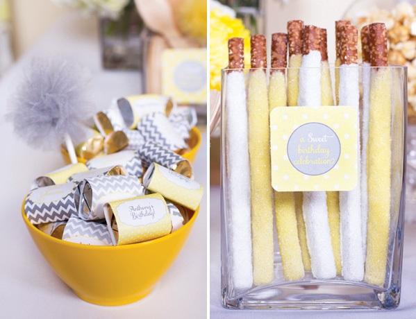 sero-limonnyj-kendi-bar-5 Серо-желтый Кенди Бар для украшения осенней свадьбы
