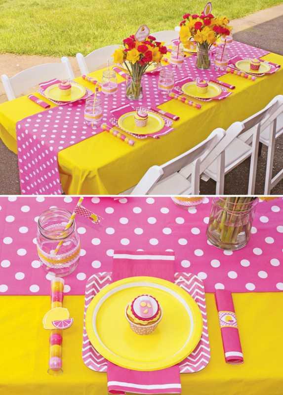 svadba-rozovo-zheltaya-2 Нежная и сочная лимонно-розовая свадьба в самый разгар лета