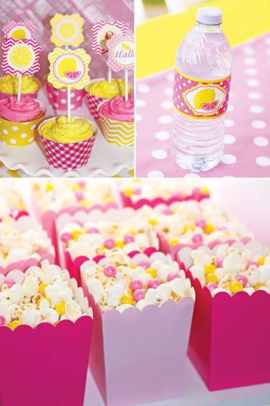 svadba-rozovo-zheltaya-5 Нежная и сочная лимонно-розовая свадьба в самый разгар лета