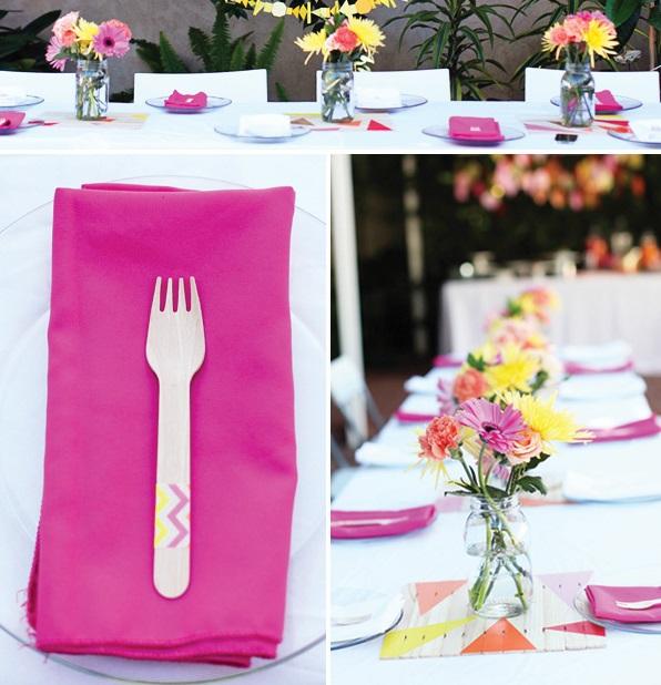 svadba-s-bumazhnym-dekorom-3 Простой декор на свадьбу из бумаги: делаем сами яркие декорации для торжества