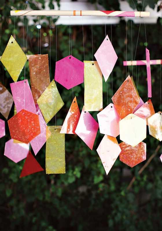 svadba-s-bumazhnym-dekorom-5 Простой декор на свадьбу из бумаги: делаем сами яркие декорации для торжества