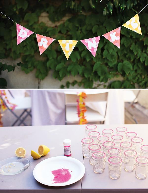 svadba-s-bumazhnym-dekorom-6 Простой декор на свадьбу из бумаги: делаем сами яркие декорации для торжества