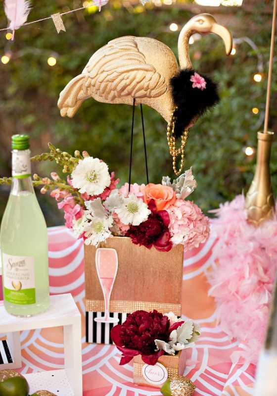 svadba-zolotoj-flamingo-10 Дитя заката - розовый фламинго, как тематика свадебного торжества