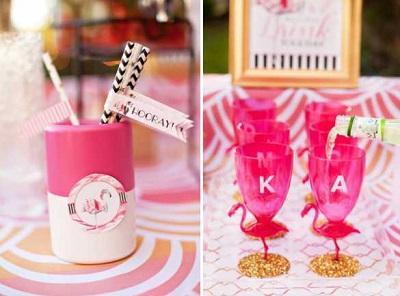 svadba-zolotoj-flamingo-2 Дитя заката - розовый фламинго, как тематика свадебного торжества