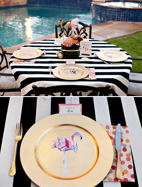 svadba-zolotoj-flamingo-3 Дитя заката - розовый фламинго, как тематика свадебного торжества