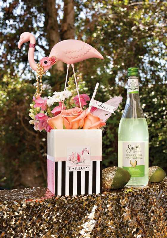 svadba-zolotoj-flamingo-6 Дитя заката - розовый фламинго, как тематика свадебного торжества