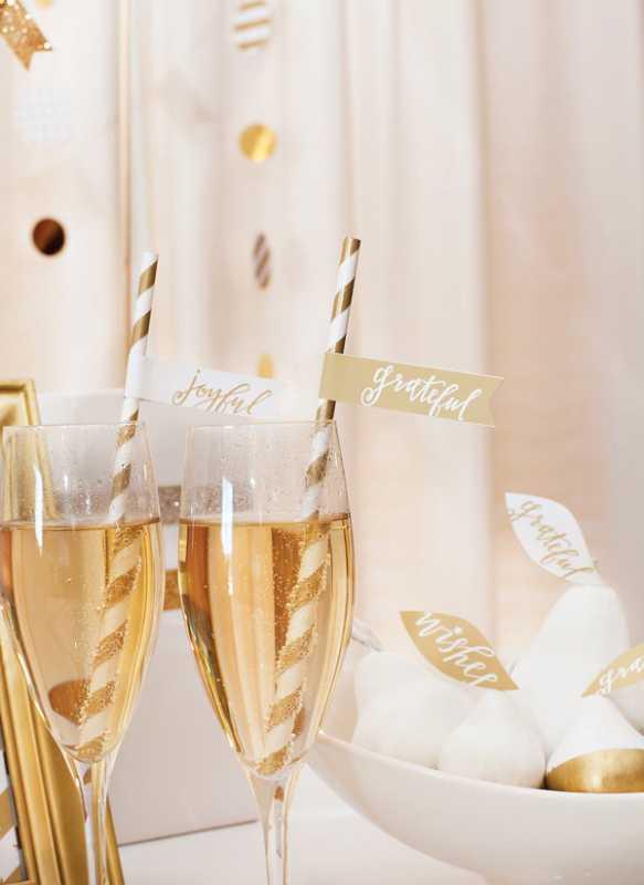 zolotoj-kendi-bar-na-svadbe-4 Богатство и роскошь золотого Кенди Бара на свадьбе, чем удивить гостей