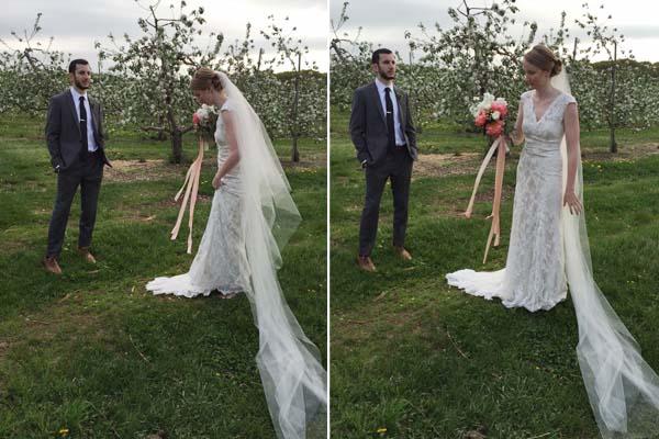 1-dekor-dlya-svadebnogo-buketa Декорируем сами свадебный букет невесты в стиле рустик при помощи лент