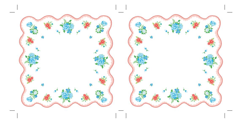 maket-svadebnoj-salfetki-1 Украшаем свадьбу самодельными бумажными салфетками в старинном стиле