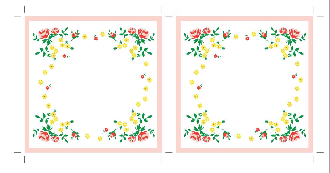 maket-svadebnoj-salfetki-2 Украшаем свадьбу самодельными бумажными салфетками в старинном стиле