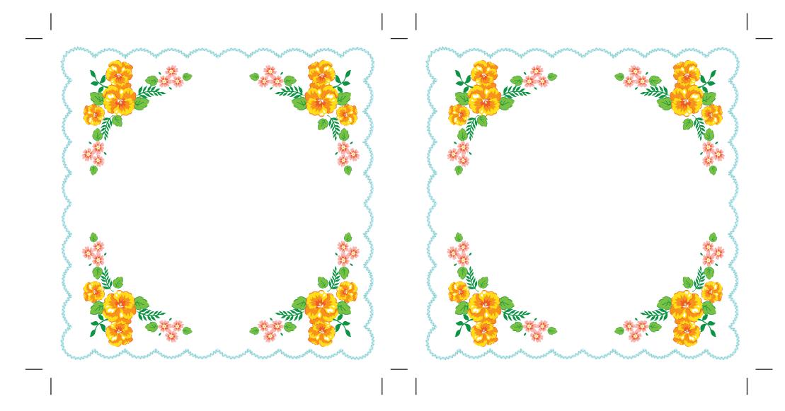 maket-svadebnoj-salfetki-3 Украшаем свадьбу самодельными бумажными салфетками в старинном стиле