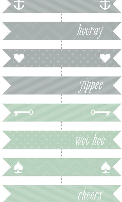 myatnye-flazhki Бесплатные шаблоны для распечатки свадебных флажков