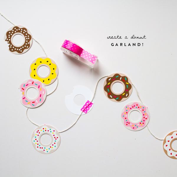 ponchiki-v-dekore-svadby-2 Пончики в декоре свадьбы + бесплатные макеты для печати
