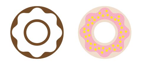 ponchiki-v-dekore-svadby-8 Пончики в декоре свадьбы + бесплатные макеты для печати