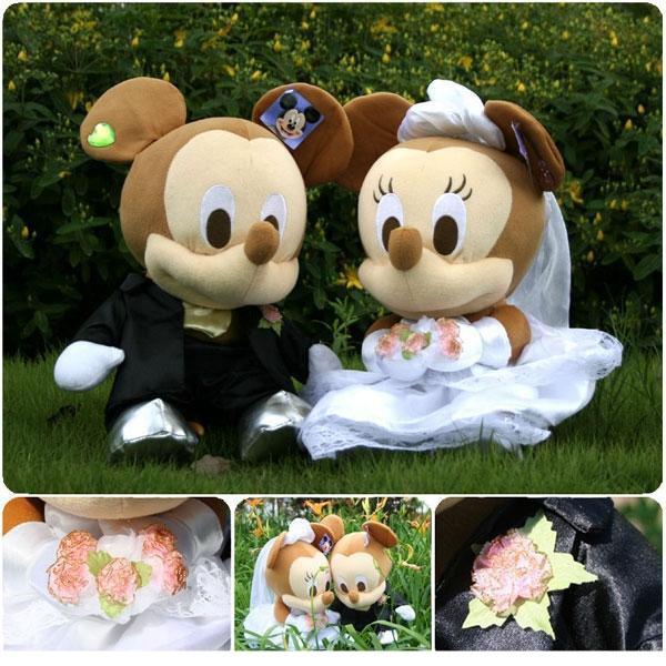 Svadebnye-igrushki Свадьба в стиле Микки Мауса и Минни