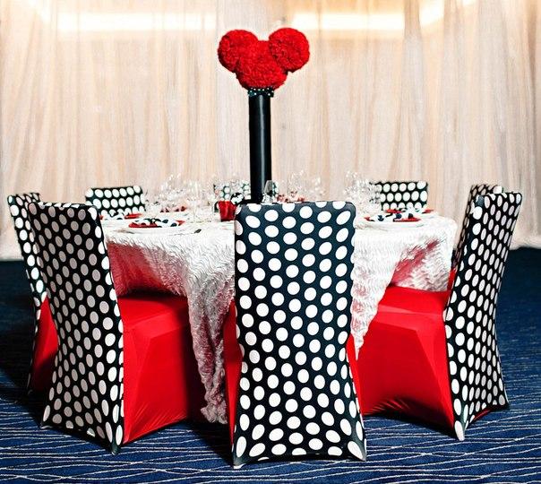 Svadebnyj-dekor-v-stile-Mikki-Maus Свадьба в стиле Микки Мауса и Минни