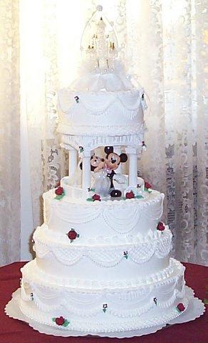 Tortik-dlya-svadby-v-stili-Mikki-mausa Свадьба в стиле Микки Мауса и Минни