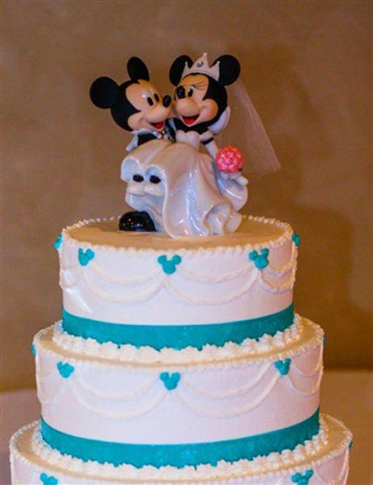 Tortik-na-svadbu Свадьба в стиле Микки Мауса и Минни