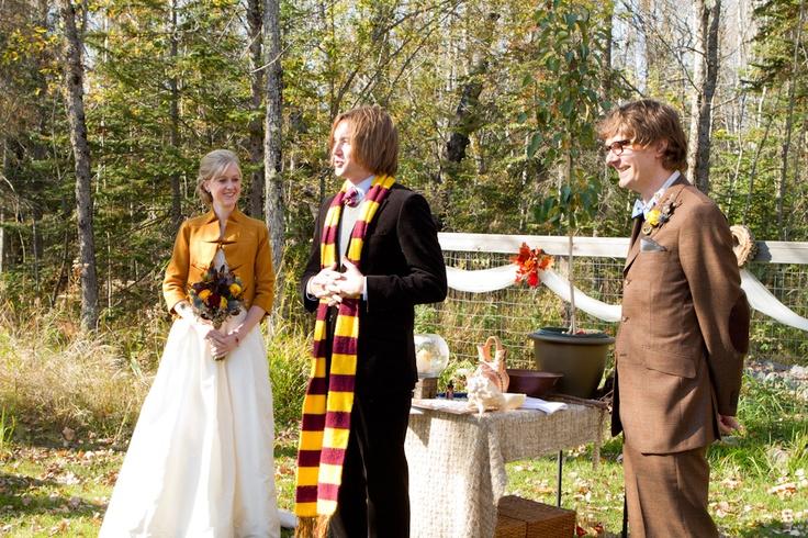 ZHenih-i-nevesta Свадьба в стиле Гарри Поттера