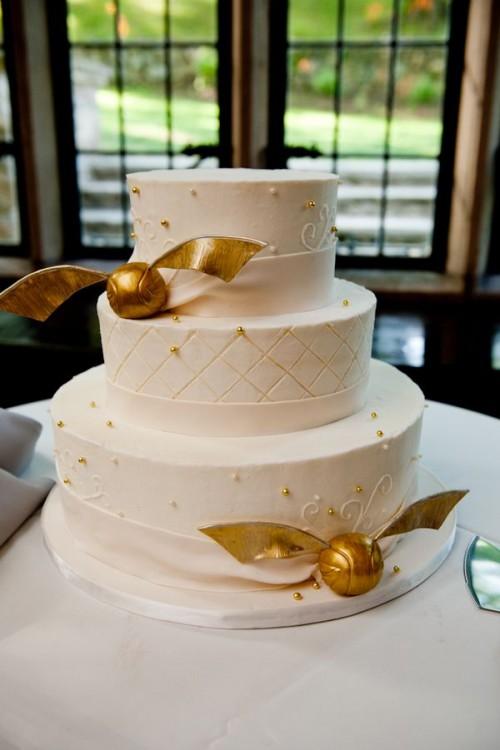 svadebnyj-tort-v-stile-garri-pottera Свадьба в стиле Гарри Поттера