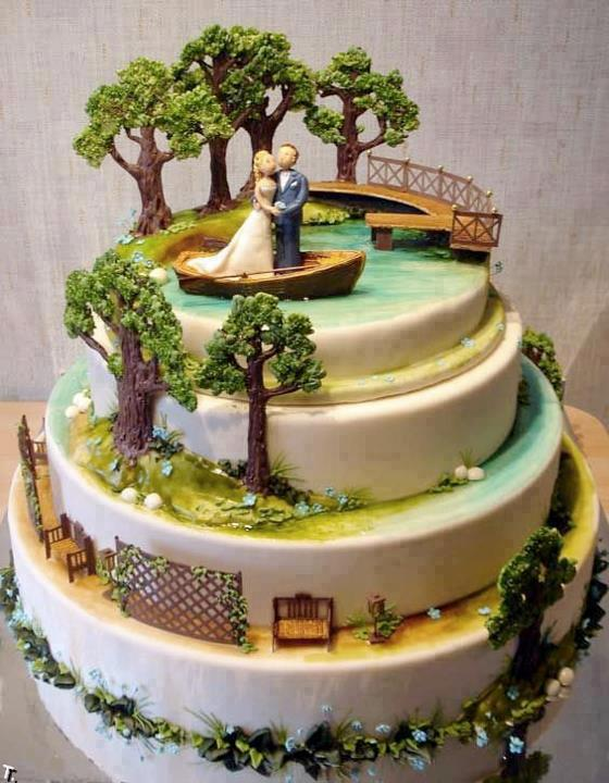 awsu На скамейке запасных, свадебный торт угощение или украшение?